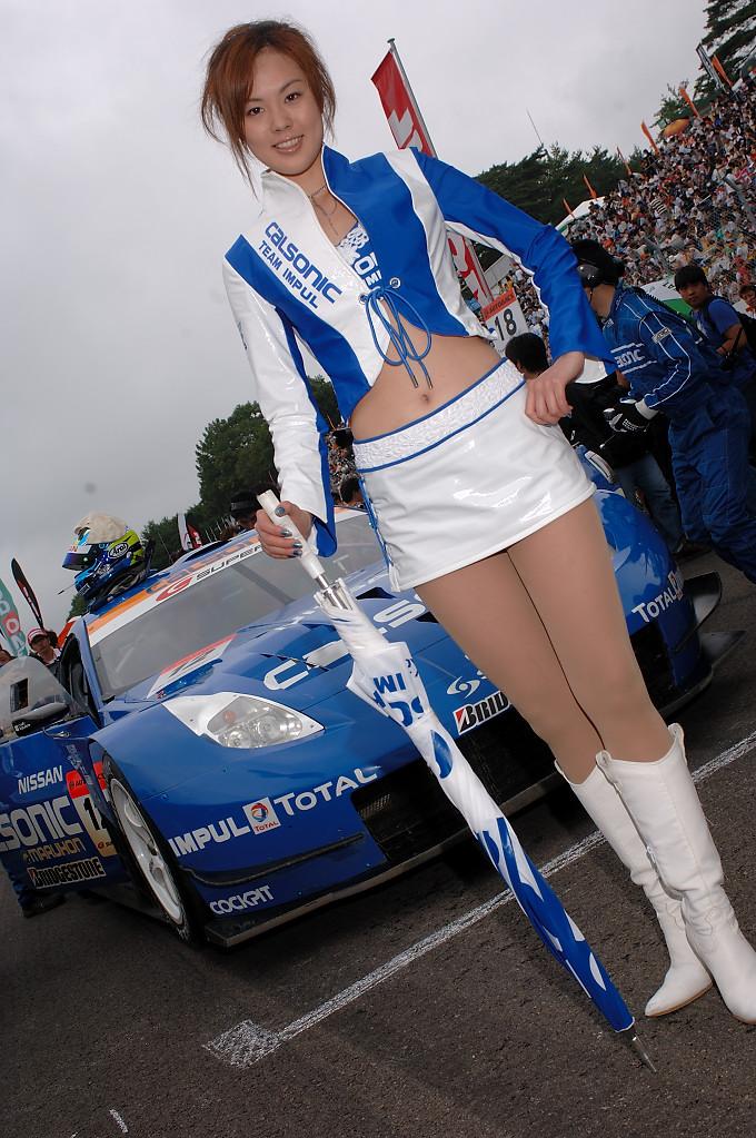 日本汽车拉力赛的众多车模MM,短裙丝袜,争相斗艳 - BB爱你 - 没有肉体的摩擦,那来灵魂的火花